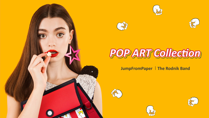 [廣編特輯]JumpFromPaper X The Rodnik Band 2016 POP ART 聯名系列