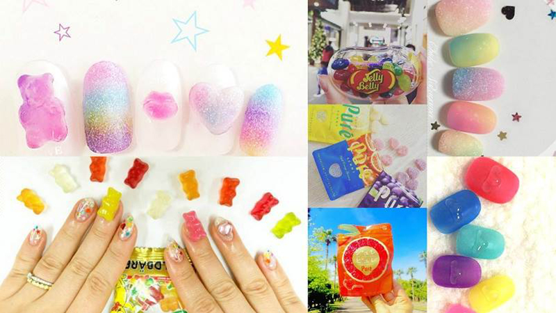 甜食控不能錯過!萌翻夏日的「軟糖指彩」