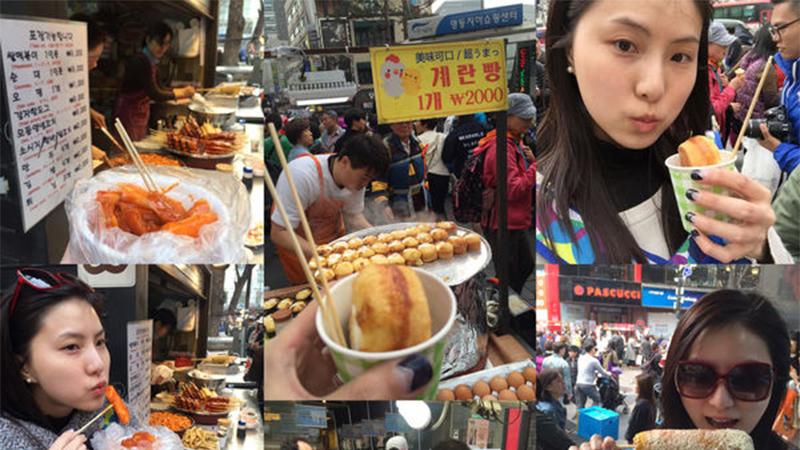 【私遊】2016三月初遊首爾:五天四夜瘋狂逛街+吃美食姐妹行Day1!