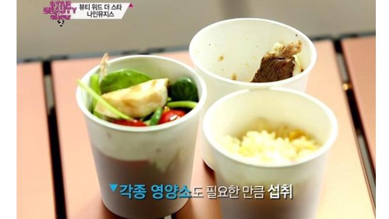 紙杯減肥法從韓國紅到日本啦!櫻花妹的紙杯菜單看起來是否太可口