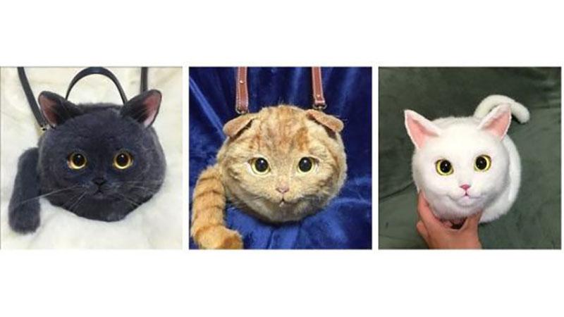 這款超逼真的「喵背包」可能會讓動保團體想要控訴你竟然把貓咪背在身上!