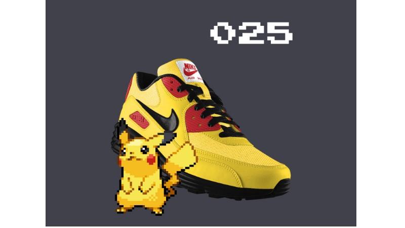 將喜愛的Pokémon穿上腳!以NIKEiD訂製的精靈寶可夢主題鞋