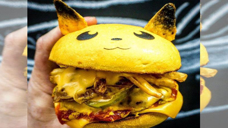 不只抓到還要吃到!限定版寶可夢漢堡萌翻你心