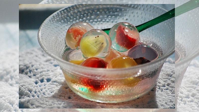 夏日夢幻甜點《九龍球》色彩繽紛的Q彈龍珠製作過程大公開!