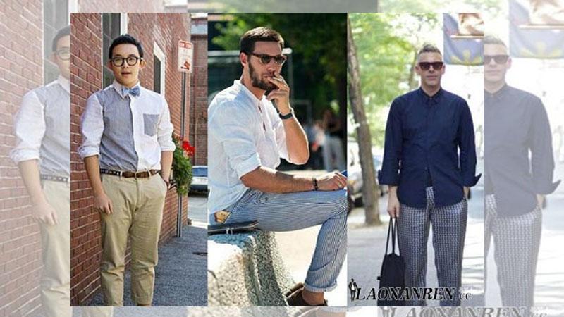 微胖男生穿衣搭配技巧秒變型男很顯瘦