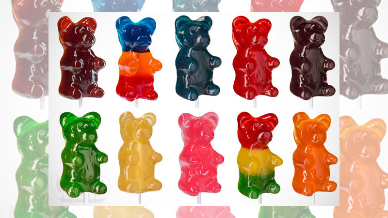 小熊軟糖巨大化【大熊棒棒軟糖】,保證你吃的過癮咬到嘴酸!