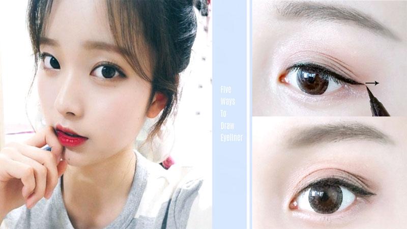 神啊〜教我畫眼線吧!5種常用眼線畫法,新手也能輕鬆Get!