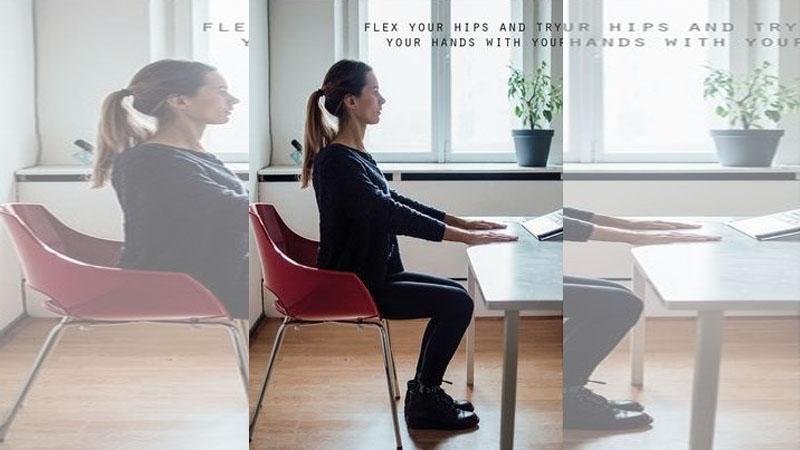 坐著也能瘦!在辦公室偷偷做的4款超簡單減肥法~要瘦真的不難啊!