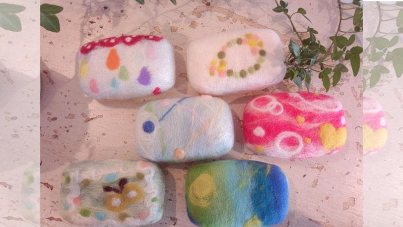 沐浴品最新風潮《羊毛氈皂》,不只可愛還有保溼美肌的效果!