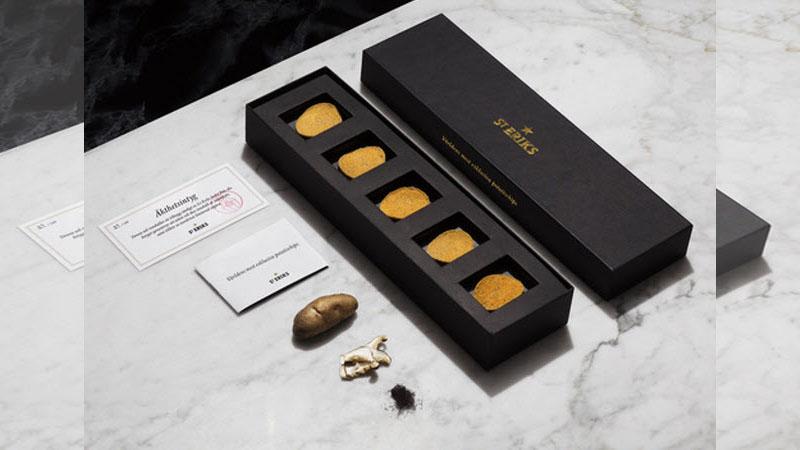 全世界最貴的洋芋片在這裡!薄薄5片要價1800元