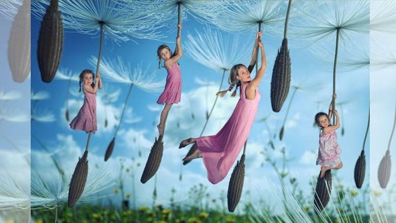 地表最強攝影師老爸《為女兒創造有趣又好玩的照片》,留下最特別的童年!