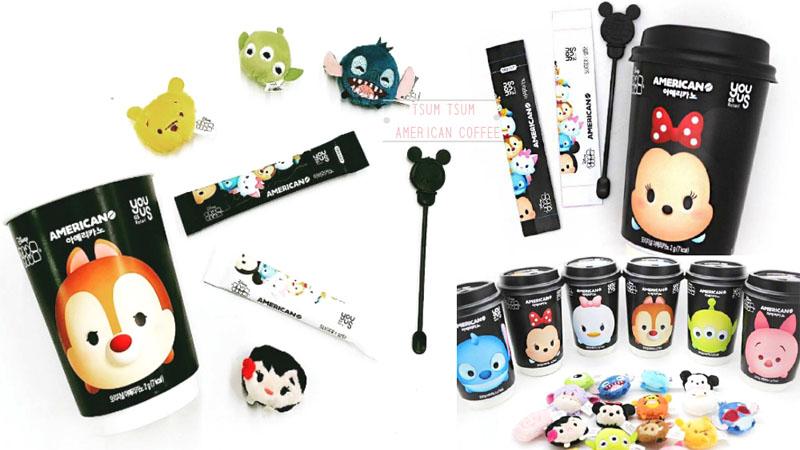 韓國便利商店限定!超萌的迪士尼美式咖啡杯,是逼姐連一杯咖啡也非得找代購嗎~