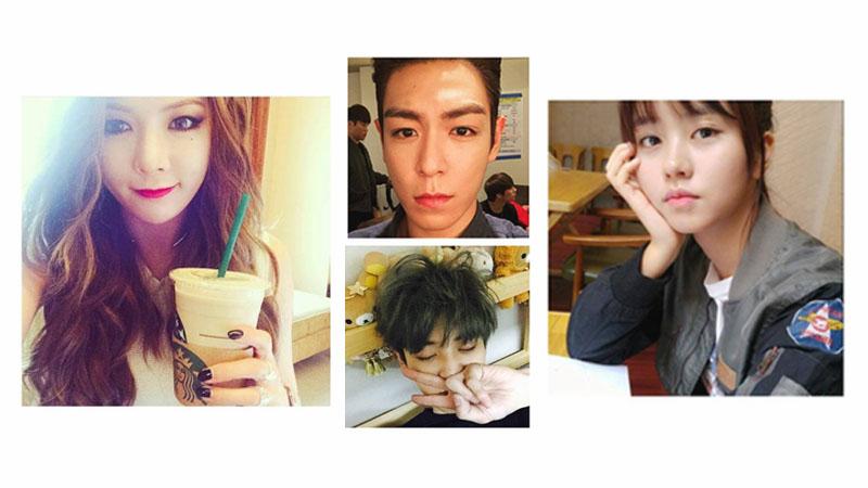 ♪People  韓星自拍:拍100張都不夠!BIGBANG T.O.P、EXO 燦烈、泫雅、金所炫 獨門拍照技巧大匯集
