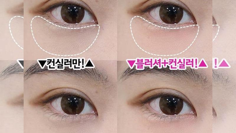♪女孩必學的《黑眼圈遮掩法》,除了遮暇膏還有2樣東西超好用!