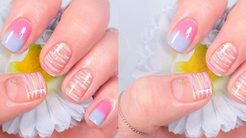 甜滋滋的【夢幻指彩】簡單DIY讓你也能擁有少女般的指甲彩繪~