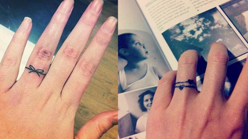 微刺青的新選擇!甜美、個性、浪漫三合一的刺青戒指登場啦~